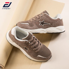 Buy FANDEI Outdoor Sport Running Shoes Women Velevt Fur Women Retro Sneakers Sport Walking Shoes Suede Leather Jogging Shoes for $22.54 in AliExpress store
