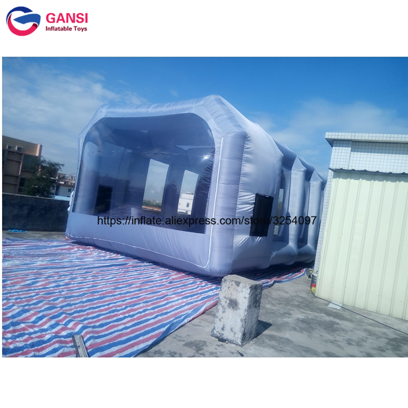 inflatable paint spray booth63
