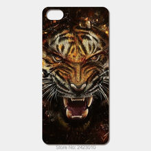 High Quality smartphone Cell phone cases For iPod Touch 6 5 4 Case Hard PC Raging tiger Patterned Cover