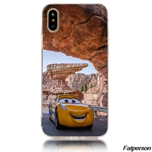 nascar Cars Hard Transparent plastic phone Case Cover Coque For Apple iPhone 8 8plus 7 7plus 6splus 6s 6plus 6 5 5s 5c 4s cases(China)