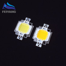 10PCS 10W LED 10W white /warm white 800-900LM LED Bulb IC SMD Lamp Light Daylight white High Power LED 6000-6500K 12V 600MA