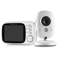 SANNCE Home Security Baby Monitor 3.2inch Displayer Night Vision Camera Wireless Mini Camera Surveillance Night Vision Camera(China)