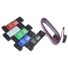 10pcs USB ISP USBISP USBASP ASP AVR Programmer for 51 ATMEL AVR WIN7 64 (RANDOM COLOR)