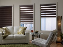 Free shipping Blackout roller zebra blinds made to measure(China)