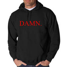 Kendrick Lamar DAMN LOGO Hoodie Classic Hip Hop Tee Rap Dr. Dre New Compton California Rap fashion  Hoodies fleece casual top