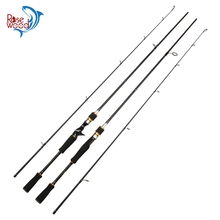 ROSEWOOD New 2.1m High Carbon M Power 5-16g Lure Weight #1-#5 Spinning Fishing Rod Spin Pole Baitcasting Rod Peche Fishing Rods