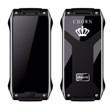 New VKworld Crown V8 1.63 inch 4.9 mm Ultra Thin Cellphone Quad Band Unlock Phone Guard Lock Pedometer Remote Control Cell phone