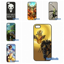 Coque Game Overwatch OW Phone Cases Cover For Blackberry Z10 Q10 HTC Desire 816 820 One X S M7 M8 M9 A9 Plus