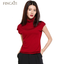 Women's Sweater Spring New Ruffled Collar Cashmere Blending Short Sleeve Knitted Shirt Fashion Casual Knitwear STOCK CLEARING(China)