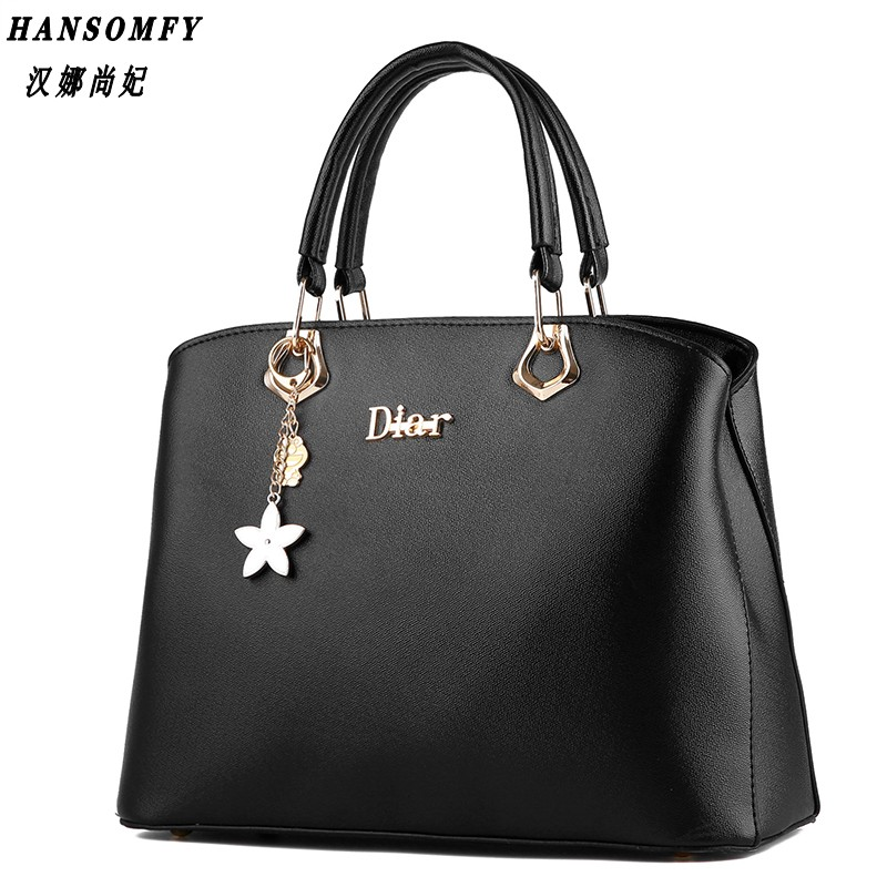 Han 100% Genuine leather Women Handbags 2017 New wave of female bag sweet lady fashion Handbag shoulder Messenger<br>