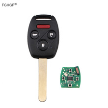 FGHGF 313.8Mhz Keyless Entry Remote Car Key Fob for 2006-2011 Honda Civic N5F-S0084A 35111-SVA-305 3248A-S0084A With 7961chip