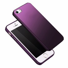 Phone Case for iPhone 5 5s SE Matte Ultra Slim Thin Hard Plastic pc Phone Back Cases Cover Fundas For iphone5 5se 5 s se Coque(China)
