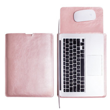 SKULL BRO PU Leather Sleeve Bag for Apple Macbook Air 11.6 Inch A1465 A1370 Ultra Thin Laptop Protective Case Bag