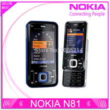 Refurbished Unlocked Original Nokia N81 GSM 3G network WIFI 2MP camera FM 2.4 inch Mobile Phone 1 Year Warranty Free shipping(China)