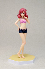 Love Live Maki Nishikino Anime Sexy Figures Toys Sexy Figurine Swimsuit Bathing Ver. PVC Action Figure Brinquedos Doll Toys 16cm