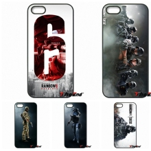 For iPhone 4 4S 5 5C SE 6 6S 7 Plus Galaxy J5 J3 A5 A3 2016 S5 S7 S6 Edge Rainbow Six Siege Operation Black Ice cell phone case