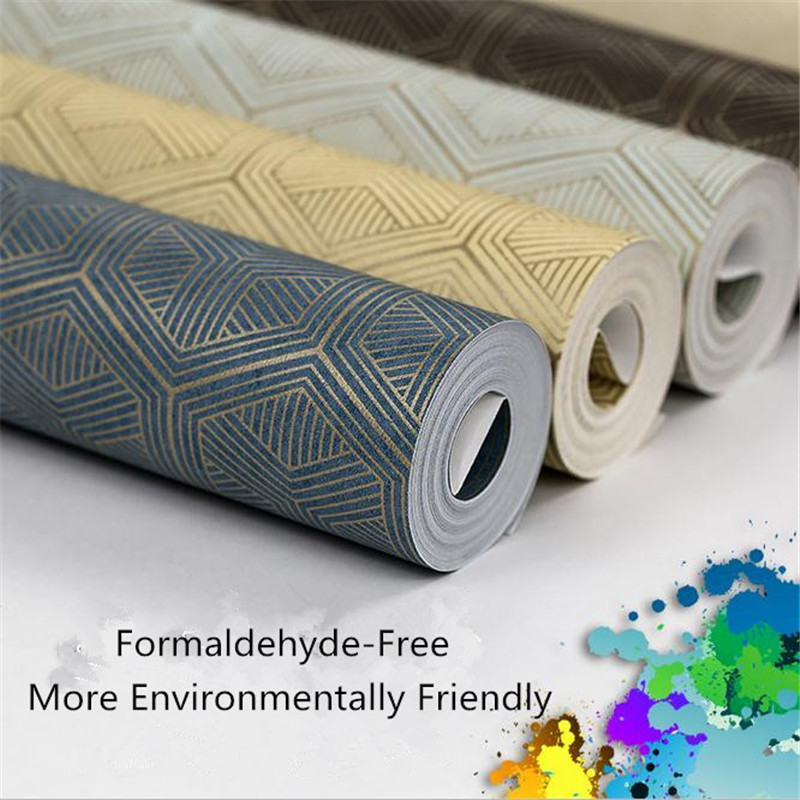 5.3 square meter modern non-woven wallpaper Europe minimalist vintage wallpaper living room background wallpaper Chinese pattern<br>