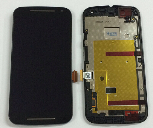 AAA quality LCD Screen Display For Motorola MOTO G2 G+1 XT1063 XT1064 XT1068 XT1069 LCD+Touch Digitizer Assembly with frame<br>