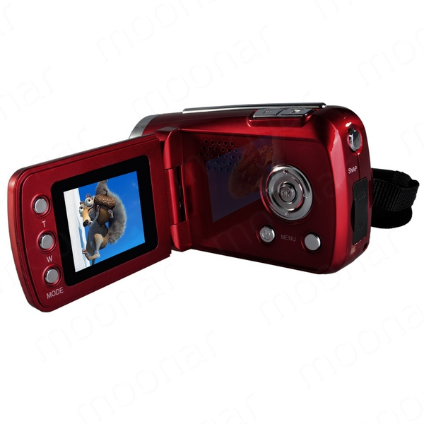 2016 Brand New Black Red Color Mini Series Digital Video Camera 4 x Digital Zoom Hand Grip With SD/MMC Card Slot(China)