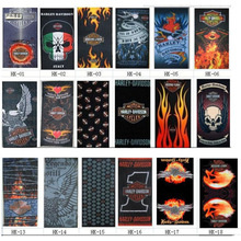 Wholesale Skull Scarves Outddoors Harley Bandana Headwears Davidson Motorcycle Headband Bandanas Buffe 100pcs/lot Drop Shipping