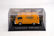 IXO Altaya 1:43 Volkswagen Kombi T2 Sedex Correios Car Diecast Models Limited Edition Collection(China)