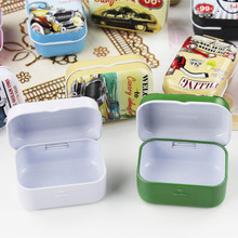 New Style 3D Tin Box Many Color Small Capacity Macaron Organizer High Quality Mac Cosmetics For Tea Candy Chocolate Girl Gift