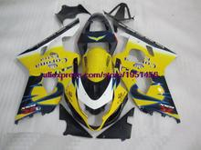 Fairings GSXR750 2004 2004 - 2005 K4 GSXR 600 Fairing Kits Compression Fairing Kits for Suzuki GSXR600 05