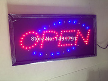 open Sign led displays Neon Lights LED Animated Open Sign Customers Attractive Sign Store Shop Sign 220V 110V