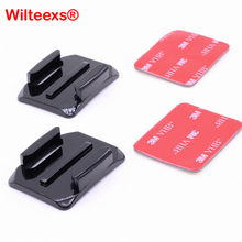 Buy WILTEEXS Accessories Curved Surface 3M VHB Adhesive Sticky Mount Xiaomi Yi 4K SJCAM SJ4000 SJ5000 Hero 5/4/3+/3/2/1 for $1.20 in AliExpress store