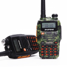 Baofeng A-52(II) Two-Way Radio 10km FM Transceiver, Dual Band 136-174/400-520 MHz 8W Power 4800 bettery(A-52 Upgraded Version )