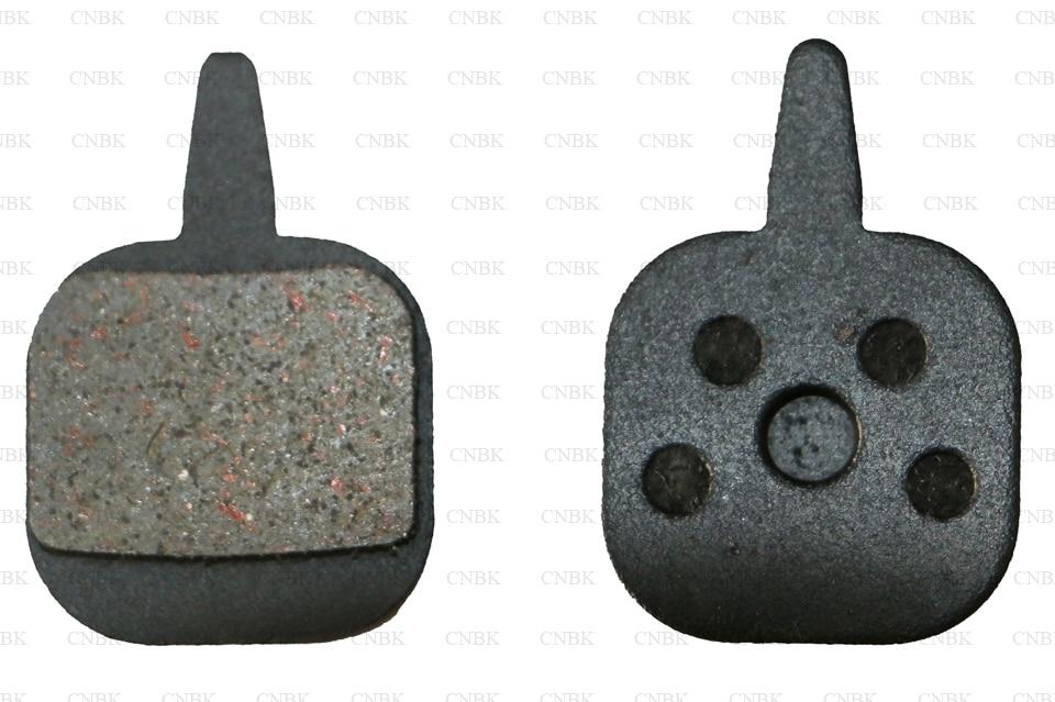 New 2 Pairs Metal Bicycle Metallic disc Brake Pads For TEKTRO NOVELA IO N11.11
