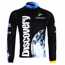 Discovery Cycling Clothing Bike Bicycle Long Sleeve Jersey Top Fleece Thermal S-XXXL