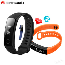 "In Stock Original Huawei Honor Band 3 Smart Wristband Swimmable 5ATM 0.91"" OLED Screen Touchpad Heart Rate Monitor Push Message"