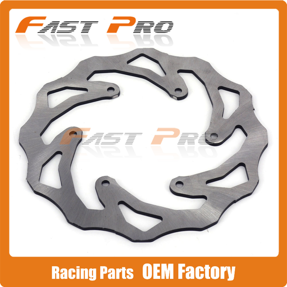 220MM Rear Wavy Brake Disc Rotor For KTM EXC EXCF SX SXF XC XCW XCF XCFW MX MXC EGS SMR SMC SXC LC4 SC Six Days Enduro Adventure<br>