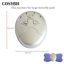 Large Machine For Butterfly Full Body Massager Pads Pulse Muscle Relax Slimming Electric Massager(China)