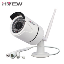 H.View IP Camera Wi-Fi Outdoor 720P 1080P Wireless Security CCTV Cameras Support TF Card Recording iPhone Android Remote Access(China)
