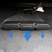 For 2015-2017 Toyota Highlander car front under seat air conditioner air outlet protective cover frame(China)