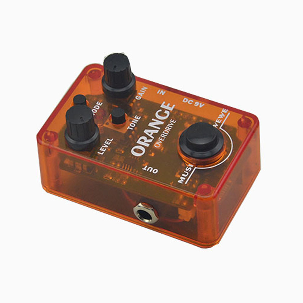 NEW Effect Pedal Mini Overdrive true bypass Orange stombox  High Quality Guitarra Effect Pedal free shipping<br>
