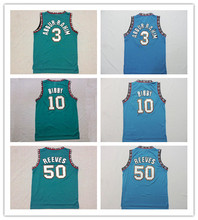 #10 Mike Bibby Jersey,Ordinary Basketball Jersey,Top quality,Embroidery logos,Sport Jerseys,Size S--XXL,Accept Mix Order(China)