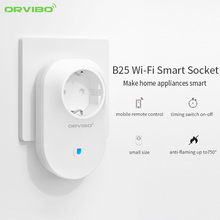 Orvibo S20 S25 EU AU UK US Socket Intelligent Home Control for Smartphone Automation Smart Wi-Fi Wireless Timer Switch Wall Plug