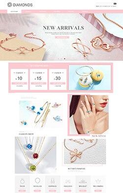优悦视觉★G202珠宝首饰银饰服饰配件奢侈品三色