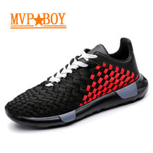 Mvp Boy Superb car suture durability chaussure homme tn 11 requin lebron shoes outdoor krampon replica-shoes sapato masculino(China)