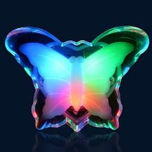 1pc New Butterfly Night Light Lamp Lovely Home LED Bedside Night Light Lamp Wholesale Store