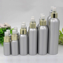 30/50/100/120/150/250ml Perfume Aluminum Spray Bottle Cosmetic Bottles Container Aluminum Spray Atomizers Silver Perfume Bottle(China)
