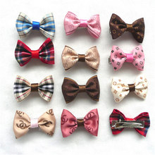 11Color/lot Classic Pet Bows For All Cats Dog Bow Hairpin Headdress Dog Bows Dog Hair Bows Dog Headdress Pet Accessories PL145(China)