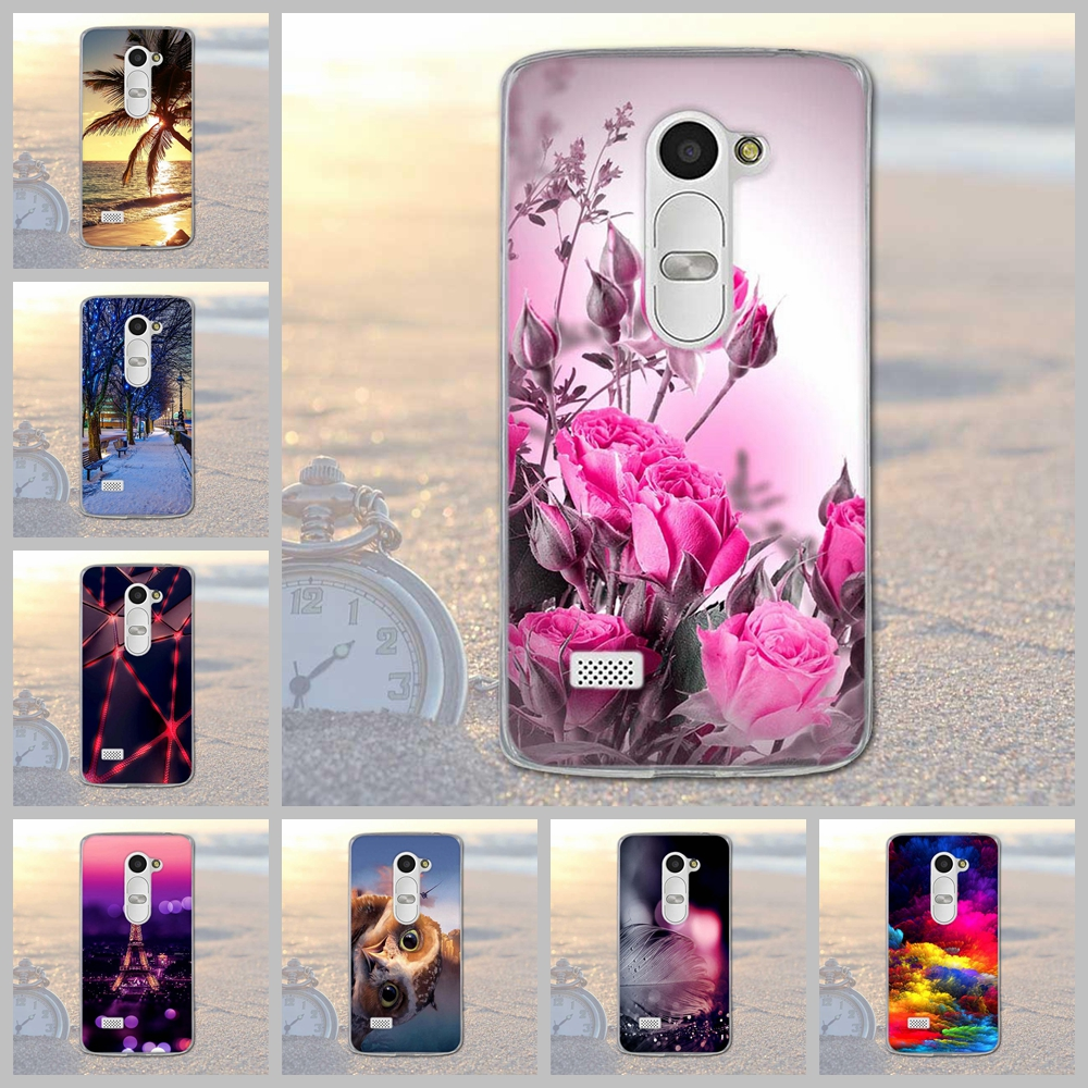 Fundas Phone Case Cover For LG Leon 4G LTE H340N C50 C40 Soft TPU Silicon Flowers Animals Scenery Mobile Phone Bag Cover For LG(China (Mainland))