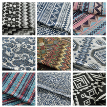 1 yard/lot Fashion chinese country style yarn dyed fabric Lijiang fabric for garment Sewing jacquard fabric DIY (ss-4540)(China)