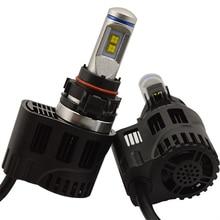 FREE SHIPPING, DLAND P6 55W AUTO LED BULB LAMP KIT LIGHTS 5200LM, IP68 H1 H3 H4 H7 9006 9005 H8 H10 H11 H13