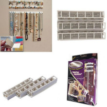 Adhesive Jewelry Earring Necklace Hanger Holder Organizer Packaging Display Jewelry Rack Sticky Hooks Wall Mount Stand