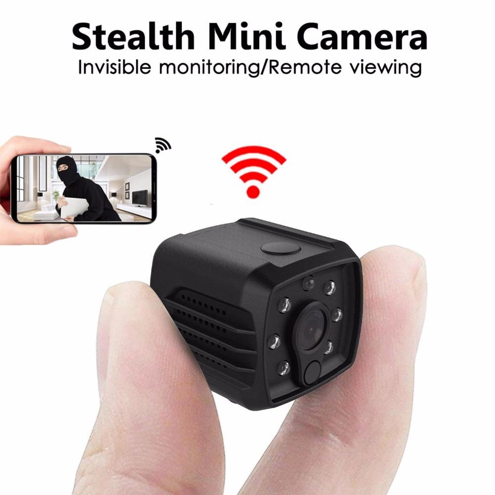 Mini Wireless Wifi IP Spy Clock Camera Motion Detect IR Night Vision HD 720P DVR